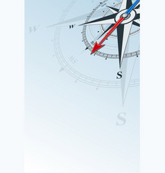 Compass southwest background vector