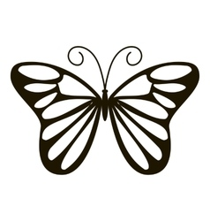 Day butterfly icon simple style vector