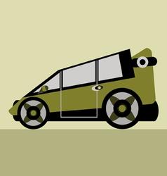 Family car vector