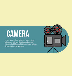 film movie cinema vector image
