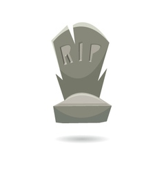 Grave isolated on a white backgrounds vector