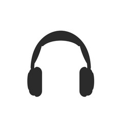 headphone icon design template isolated vector image