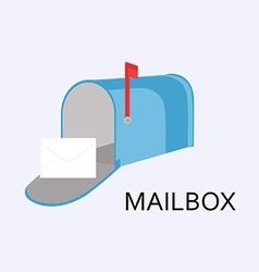 Mailbox icon vector image