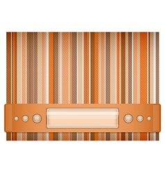Orange and brown background vector