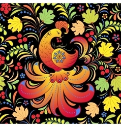 Traditional russian pattern vector image