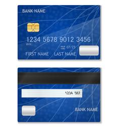 Bank card stock vector