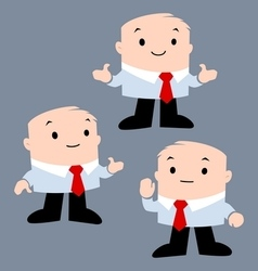 Cartoon Office Character vector