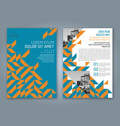 Cover annual report 847 vector