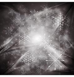 Dark Christmas background vector image