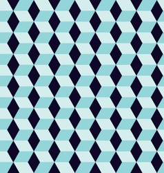 Seamless geometric rhombus color pattern backgroun vector image