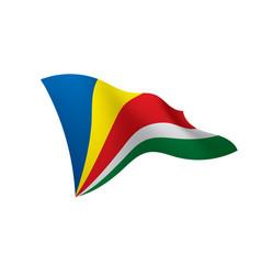 Seychelles flag vector