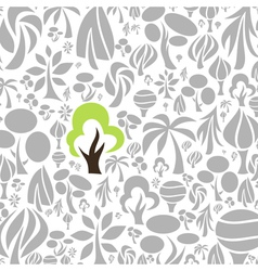 Tree a background2 vector image