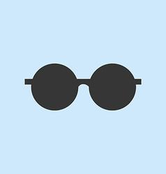 Round Sun Glasses vector image