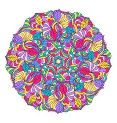 Abstract colorful mandala vector
