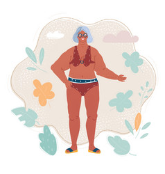 Beauty body positive and vector