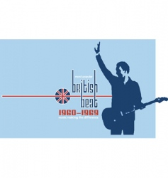 British beat vector image