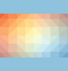 colorful light polygonal which consist of vector image