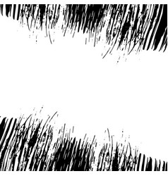 grunge horizontal frame vector image