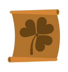 saint patricks day related icon image vector image