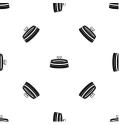 stadium pattern seamless black vector image