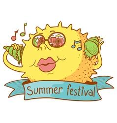 Summer festival vector
