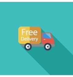 Delivery Car vector image