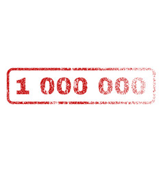 1 000 000 rubber stamp vector image