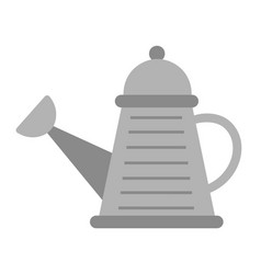 metal watering can isolated device for pouring vector image