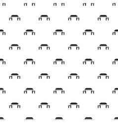 Pagoda pattern simple style vector
