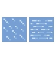 Texture for platformers pixel art - water vector