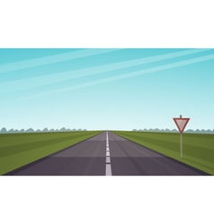 The Asphalt Road vector