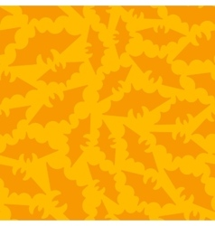 Seamless Halloween Background with Bat vector image vector image