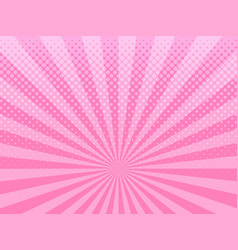 Abstract pink halftone background vector