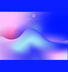 abstract trendy fluid colorful liquid gradients vector image