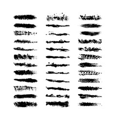 Collection 36 black dirty design element vector