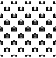 First aid kit pattern simple style vector