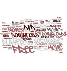 Free dvd movie downloads text background word vector