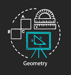 Geometry course school supplies college education vector