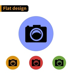 Icon flat design vector image