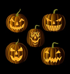 Jack o Lanterns vector image