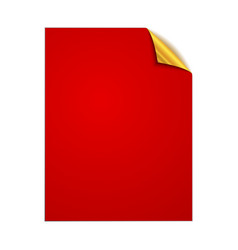 paper square page vector image