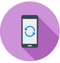 Restart phone vector