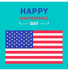 4th of July Happy independence day United states vector image vector image