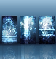 shiny card background vector image vector image