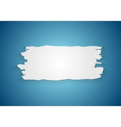 Abstract ragged paper background vector image