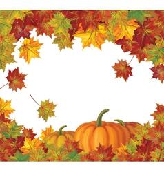 pumpkin autumn vector image