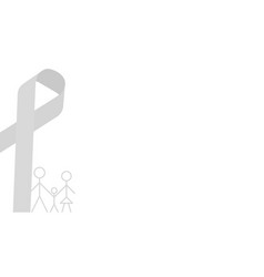 Aids background white color simple minimalist vector