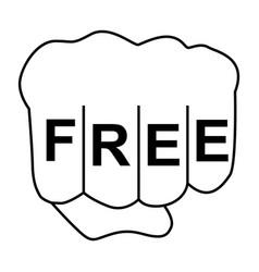 Free fist vector
