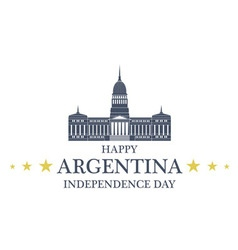Independence Day Argentina vector