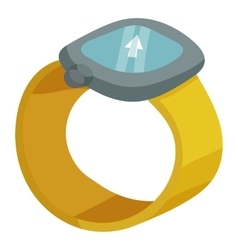 Sport watches icon isometric style vector
